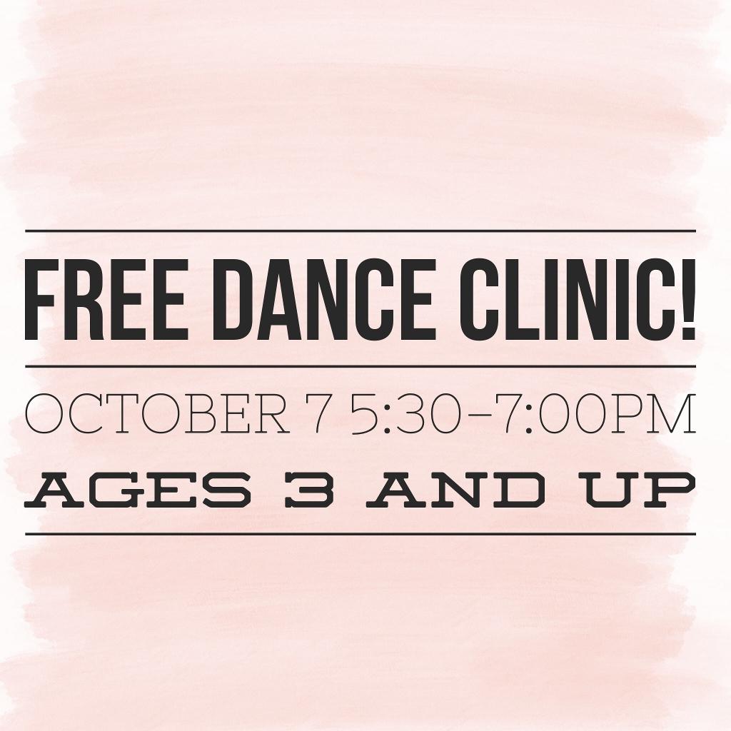Free Dance Clinic!